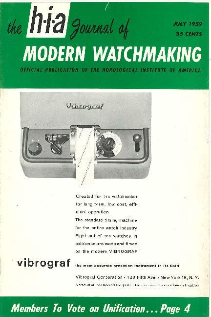 July 1959 HIA Journal
